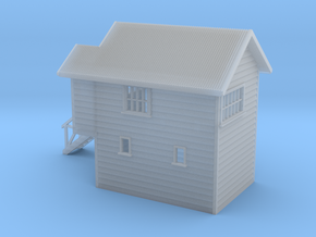 S Scale NZR Signal Box 1:64 in Smooth Fine Detail Plastic