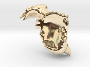 Scapula-Bone in 14K Yellow Gold