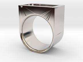 Flip n' Pay Ring in Platinum: 5 / 49