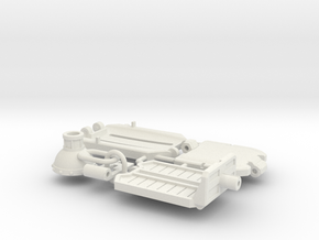 Doom Lounger's Chair Parts in White Natural Versatile Plastic