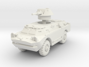 BRDM 2 scale 1/87 in White Natural Versatile Plastic