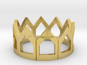 AmeGuenetteStandard FramedPolished Brass in Polished Brass