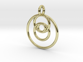 ringpendant27 in 18K Yellow Gold