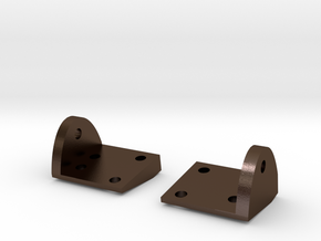 SCX10 Leaf Spring Plates in Polished Bronze Steel
