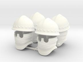 VARANGIAN HELMET 2 x4 in White Processed Versatile Plastic