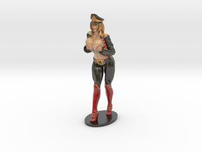 Major Kyra Figurine  200mm in Glossy Full Color Sandstone