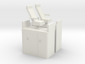 Athearn-cupola-chair in White Natural Versatile Plastic