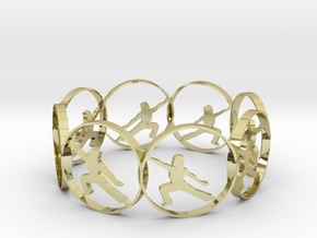 724yoga in 18k Gold Plated Brass