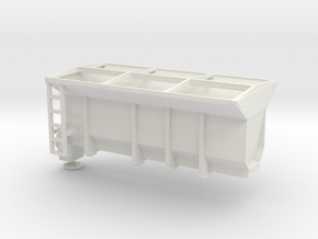 1/50th Tow Plow Sand Box in White Natural Versatile Plastic