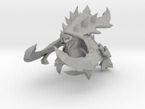 Starcraft Ultralisk 80mm miniature monster in Aluminum