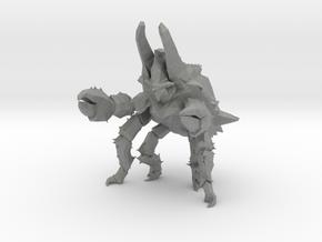 Pacific Rim Onibaba Kaiju Monster Miniature in Gray PA12