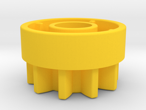 10Z  Clutch in Yellow Processed Versatile Plastic