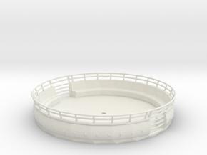 Tagada Gondel 1:87 (H0 Scale) in White Natural Versatile Plastic