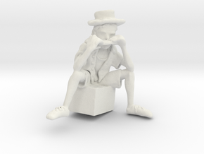 Street Harmony - Sculpted in Virtual Reality in White Natural Versatile Plastic