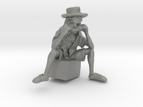 Street Harmony - Sculpted in Virtual Reality in Gray Professional Plastic