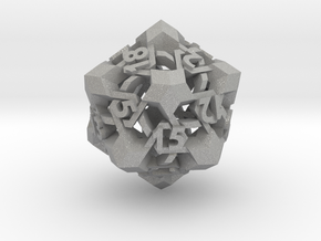 Intangle d20 in Aluminum