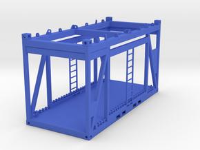 Lifting Frame 1:50 in Blue Processed Versatile Plastic