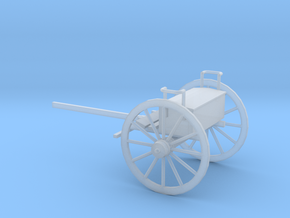 1/48 Scale Civil War Artillery Limber in Smooth Fine Detail Plastic