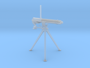 1/48 Scale Colt 1874 Camel Gatling gun in Smooth Fine Detail Plastic