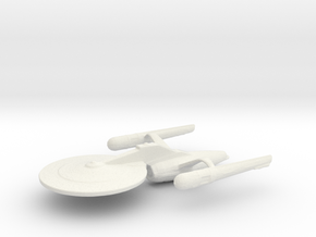 Uss Basalisk in White Natural Versatile Plastic