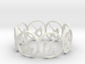 11footbehindheadarmtowardtheceiling in White Natural Versatile Plastic