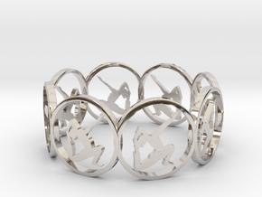 6 ring in Platinum