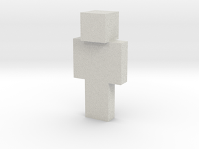 smiling-steve | Minecraft toy in Natural Full Color Sandstone