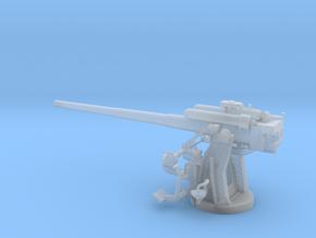 1/48 IJN Type 10 120mm Dual Purpose Gun in Smooth Fine Detail Plastic