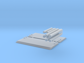 1:64 scale Trench Box  in Smooth Fine Detail Plastic