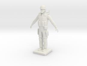 Printle C Homme 1676 - 1/24 in White Natural Versatile Plastic