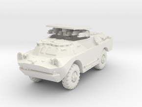 BRDM 2 Sagger (open) scale 1/100 in White Natural Versatile Plastic
