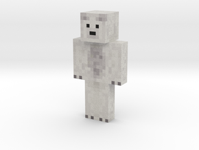 Wigloo | Minecraft toy in Natural Full Color Sandstone