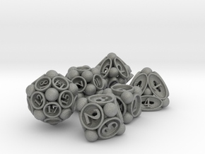 Spore Dice Set in Gray Professional Plastic