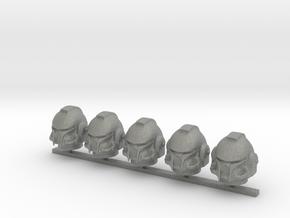 Marine_mkBH_helmet_x5 in Gray PA12