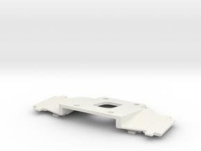 Subsonic CENTURY40 4FrontLights Mount in White Natural Versatile Plastic