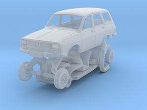 Dacia 1300 (Renault 12) Break Kit scale 1:87 in Smooth Fine Detail Plastic