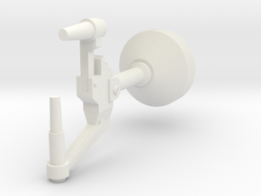 Microspan Generator in White Natural Versatile Plastic