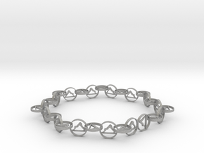 18.11 approximately size 6 ring in Aluminum