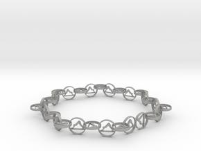 63.5 mm approximately bracelet in Aluminum
