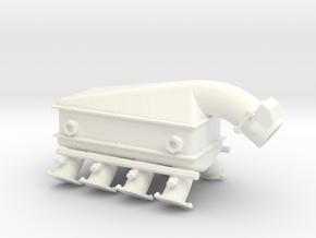 LS3 1/12 turbo w/intercooler in White Processed Versatile Plastic