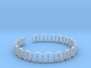 size 6 18.11 mm ring in Smooth Fine Detail Plastic