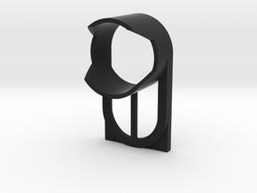 Sony action camera lens hood - protector in Black Natural Versatile Plastic