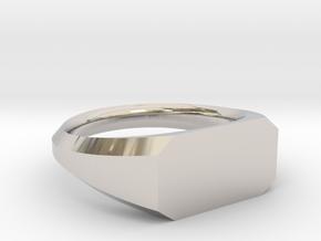 UNISEX Pinky Ring Multiple Sizes in Platinum: 6.75 / 53.375
