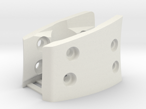 G930,G430,G230 (L&R Inside Bracket Joined) in White Natural Versatile Plastic