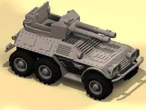 28mm 6x6 Taman Mk.B recon car   in White Processed Versatile Plastic