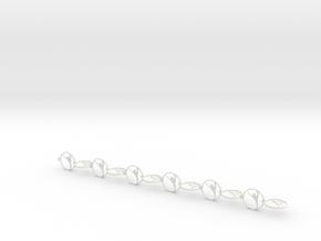 pair (4) in White Natural Versatile Plastic