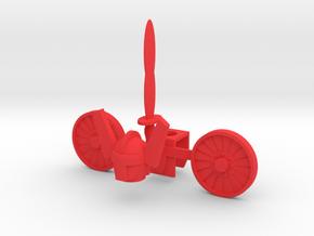 Acroyear Kreon Parts in Red Processed Versatile Plastic