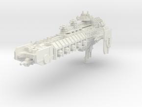 Crucero inquisitorial A in White Natural Versatile Plastic