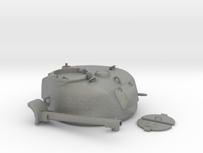 1-9th scale Sherman Turret parted in Gray Professional Plastic