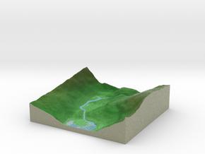 Terrafab generated model Sat Feb 09 2019 20:24:09  in Natural Full Color Sandstone